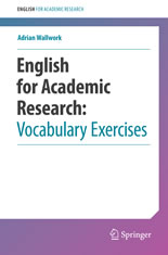 English for Academic Research - Vocabulary Exercises book cover