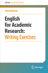 English for Academic Research- Writing Exercises book cover