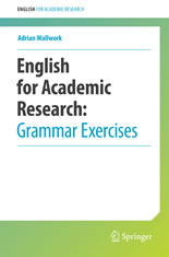 English for Academic Research - Grammar Exercises book cover