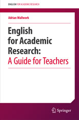 English for Academic Research- A Guide for Teachers