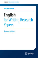 English for Research Papers book cover