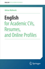 English for Academic CVs, Resumes, and Online Profiles